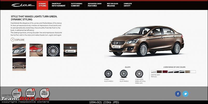 Team-BHP SCOOP: Maruti Ciaz / YL1. Scoop Pics on Page 99-ciaz-styling.jpg