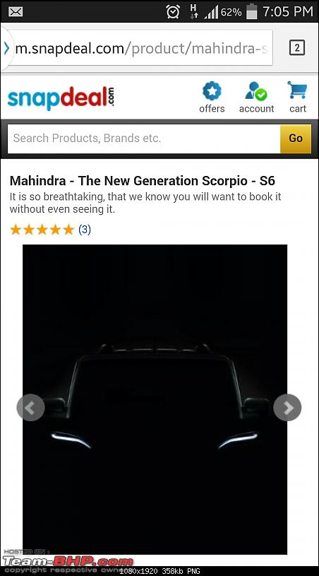 2014 Mahindra Scorpio Facelift (W105). EDIT: Now launched at Rs. 7.98 lakhs-screenshots_20140919190506.png