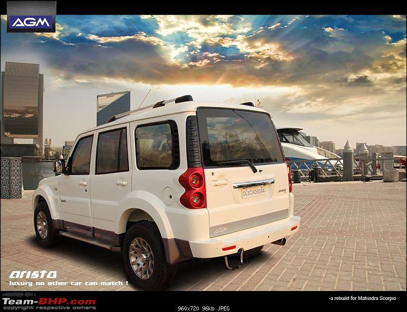 2014 Mahindra Scorpio Facelift (W105). EDIT: Now launched at Rs. 7.98 lakhs-agm-scorpio-rear.jpg