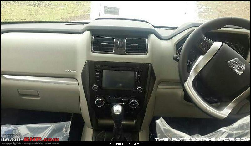 2014 Mahindra Scorpio Facelift (W105). EDIT: Now launched at Rs. 7.98 lakhs-img_8503.jpg