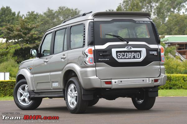 2014 Mahindra Scorpio Facelift (W105). EDIT: Scoop pics on page 36!