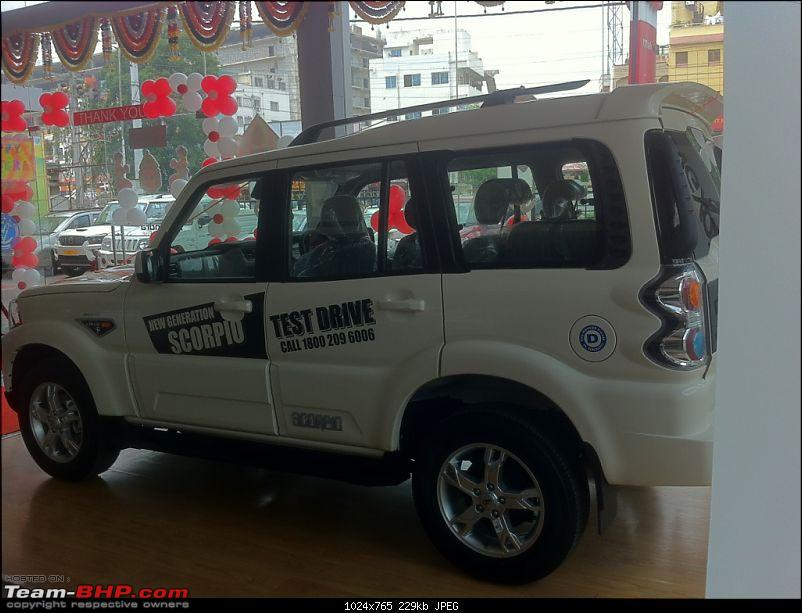 2014 Mahindra Scorpio Facelift (W105). EDIT: Now launched at Rs. 7.98 lakhs-img_3047.jpg