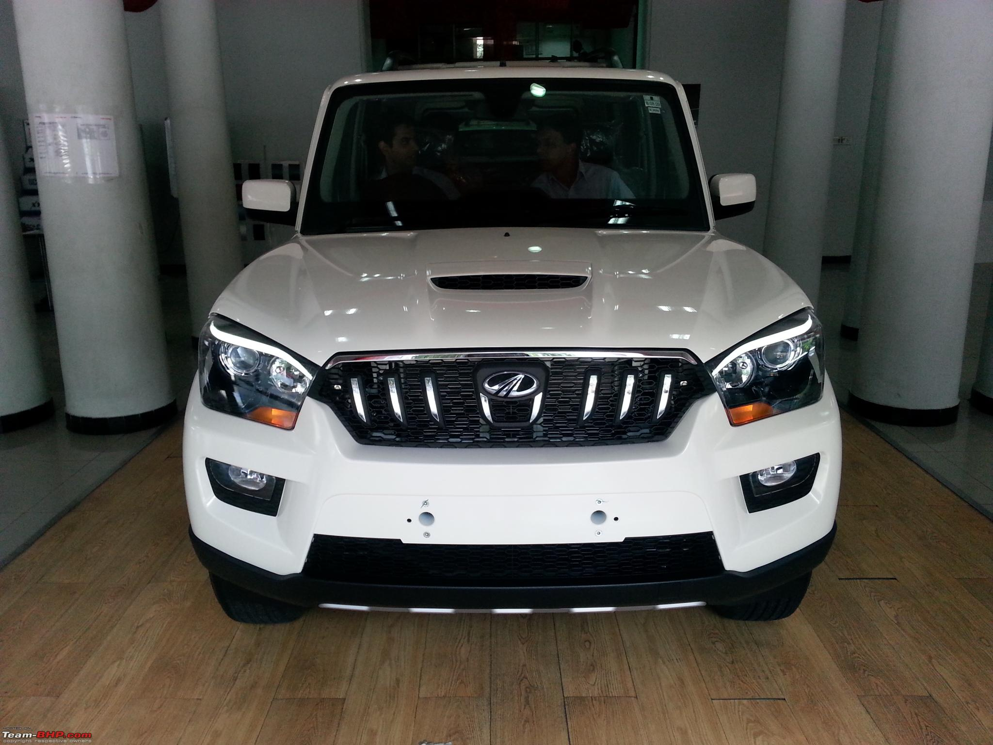 2014 Mahindra Scorpio Facelift W105 Edit Now Launched At
