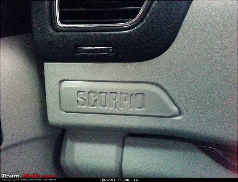 2014 Mahindra Scorpio Facelift (W105). EDIT: Now launched at Rs. 7.98 lakhs-20140926_110003.jpg