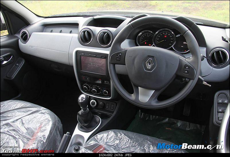 2014 Mahindra Scorpio Facelift (W105). EDIT: Now launched at Rs. 7.98 lakhs-duster-dashboard.jpg