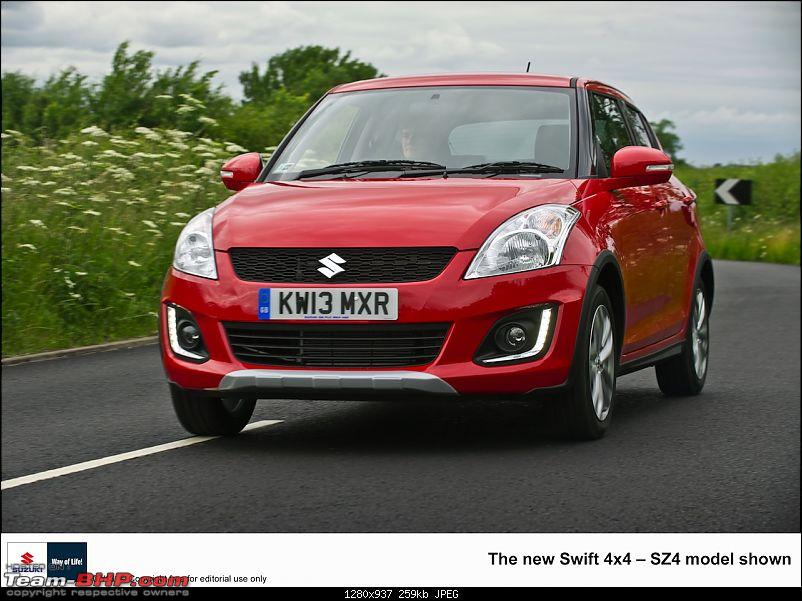 2014 Suzuki Swift Facelift Revealed-2013suzukiswift4x4front.jpg