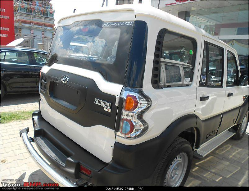 2014 Mahindra Scorpio Facelift (W105). EDIT: Now launched at Rs. 7.98 lakhs-s41.jpg