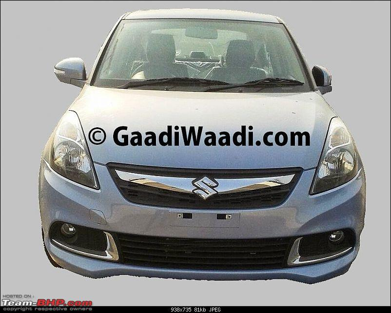 Team-BHP SCOOP: Maruti Dzire Facelift caught uncamouflaged!* EDIT: Now launched!*-b1iqijscqaabxrt.jpg