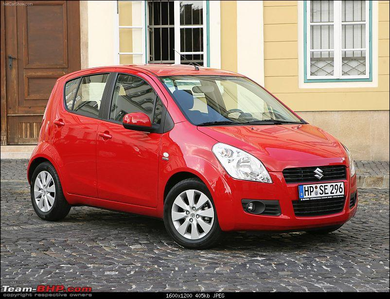 Maruti To Launch Suzuki Splash as Maruti Suzuki Ritz in May 2009-1.jpg