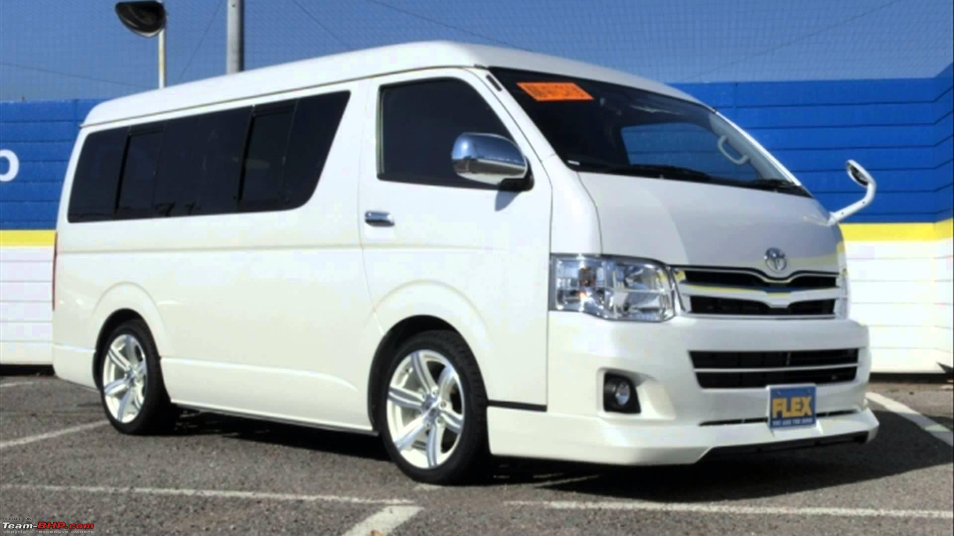 toyota hiace to make official entry in 2015   team bhp