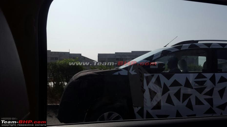 Chevrolet Spin Mpv Caught Testing In Gujarat Edit Will Not Be