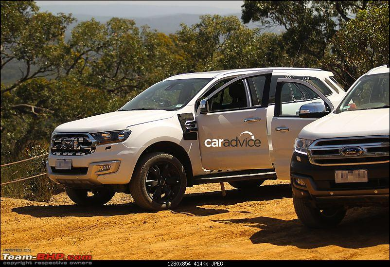 The next-generation Ford Endeavour. EDIT: Now spotted testing in India-2016fordendeavourgrillespiedaustralia.jpg