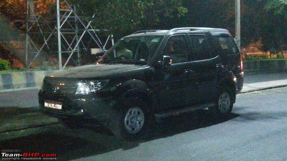 new car launches team bhpScoop Updated Tata Safari Storme in the offing EDIT Now