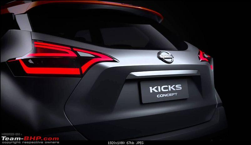 The Nissan Kicks Crossover. EDIT: Launched at Rs. 9.55 lakhs-nissankicksindia1.jpg