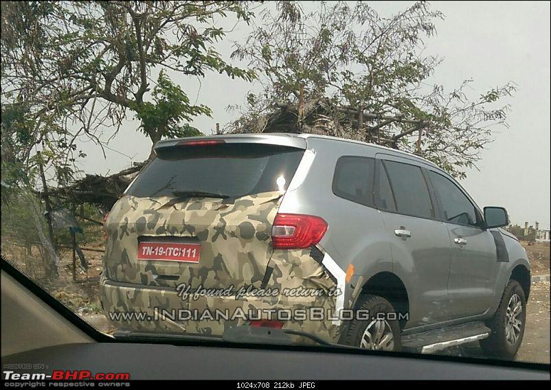 The next-generation Ford Endeavour. EDIT: Now spotted testing in India-2015fordendeavourrearindiaspied1024x708.jpg