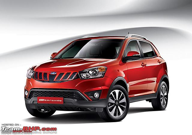 Mahindra Ssangyong Korando To Be Launched This Year Team Bhp