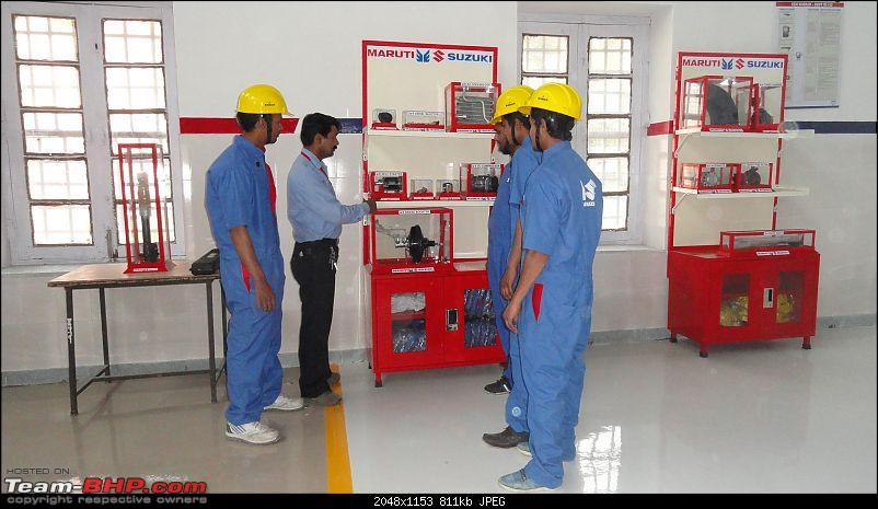 Maruti to train 2100 youth annually in car service and repair-17376233791_e04c241507_k.jpg