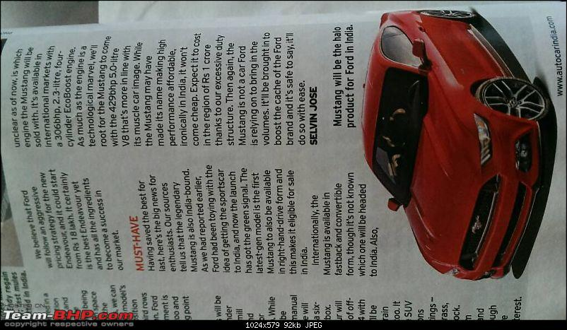 Ford Mustang coming to India. EDIT: Launched at 65 lakhs-1431049444391.jpg