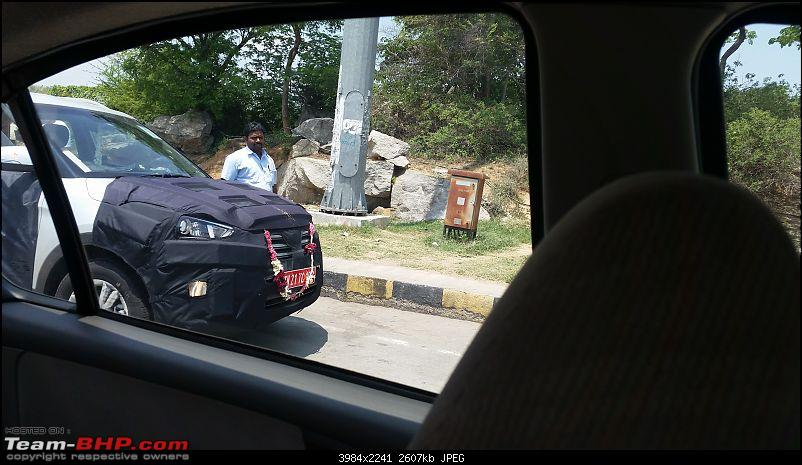 Hyundai ix25 Compact SUV caught testing in India. EDIT: Named the Creta-front.jpg