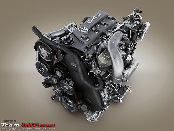 Toyota introduces new 'GD' series engine  Could power the 2016
