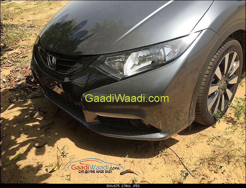 Rumour: Honda not to relaunch Civic in India-hondacivic2015front.jpg