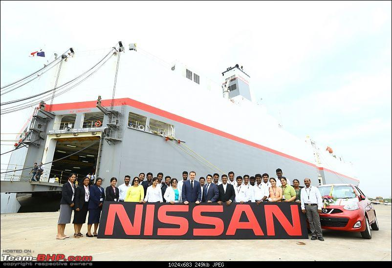 Nissan India - Now, 7 lakh cars exported-nissan-export1.jpg