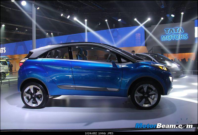 "Rumour: Tata developing premium hatchback codenamed ""X451""-tatanexonside.jpg"