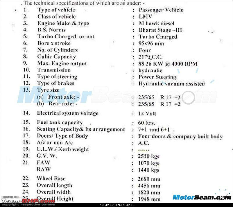 Mahindra Scorpio AT coming. EDIT, now launched-2015mahindrascorpioatrtospecifications.jpg