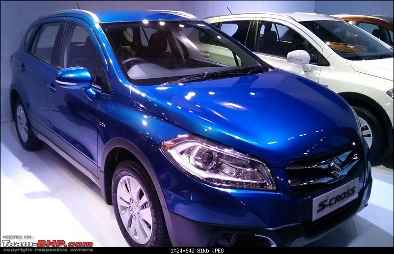 The Maruti S-Cross. (Details released: Page 38)-urban-blue.jpg