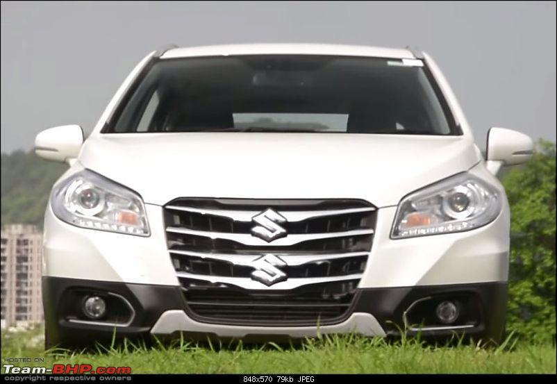 The Maruti S-Cross. (Details released: Page 38)-chrome.jpg
