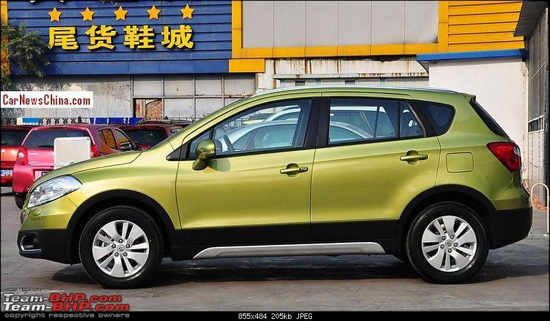 The Maruti S-Cross. (Details released: Page 38)-suzukiscrosschinal2.jpg
