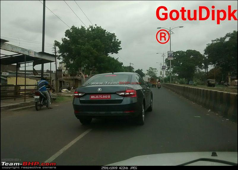 Scoop! Third-gen Skoda Superb spotted testing in India EDIT: Launched at Rs. 22.68 lakhs!-5.jpg