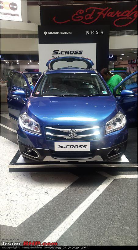 The Maruti S-Cross. (Details released: Page 38)-20150712_121138.jpg