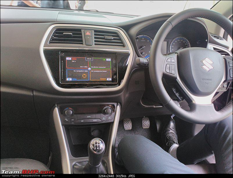 The Maruti S-Cross. (Details released: Page 38)-scross-dashboard-another-view.jpg