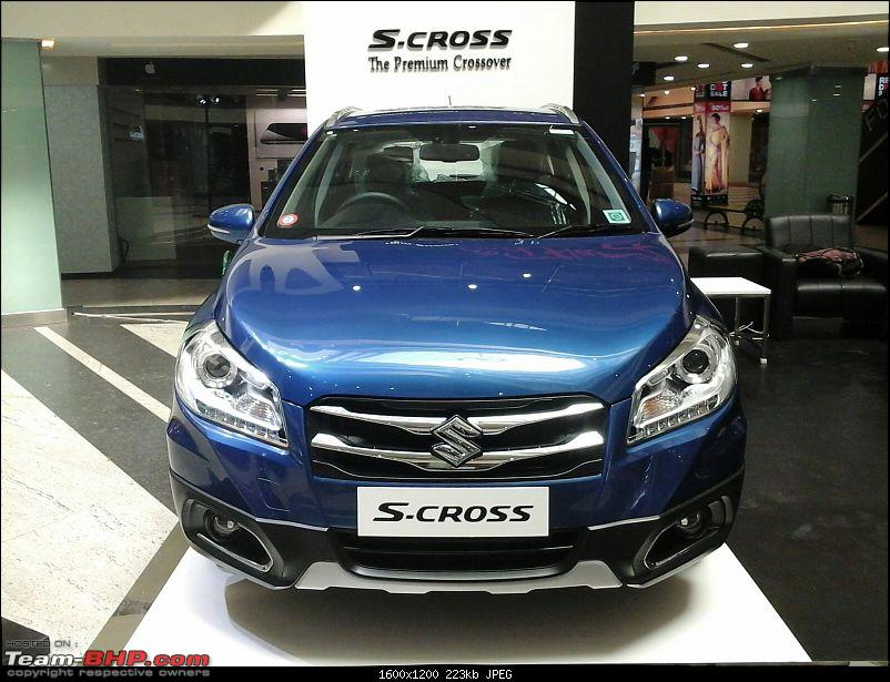 The Maruti S-Cross. (Details released: Page 38)-img20150717wa0005.jpg