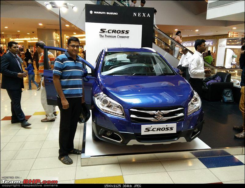 The Maruti S-Cross. (Details released: Page 38)-img_20150719_152612.jpg