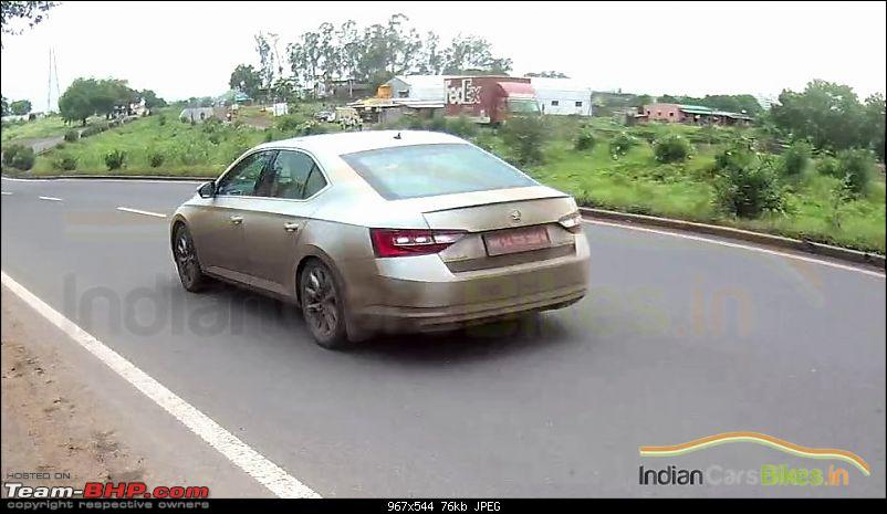 Scoop! Third-gen Skoda Superb spotted testing in India EDIT: Launched at Rs. 22.68 lakhs!-nextgen2016skodasuperbspiedpune6taillamp.jpg