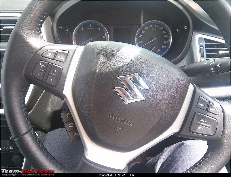 The Maruti S-Cross. (Details released: Page 38)-img_20150720_142415.jpg
