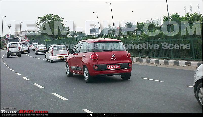 SCOOP! Fiat 500L spotted testing, but with 'HR' plates-20150724_071237.jpg
