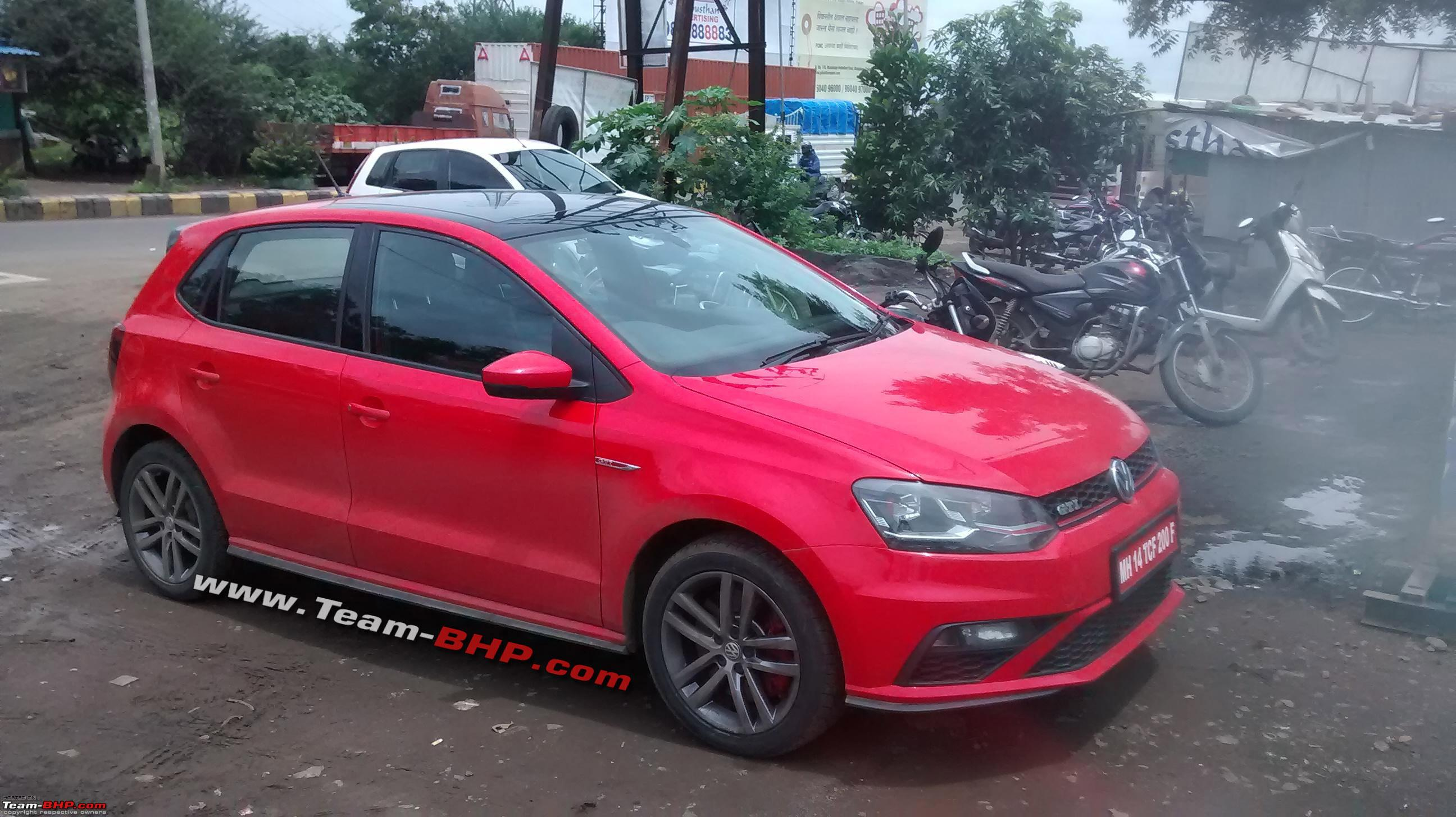 spotted vw polo gti with 1 8l tsi engine page 5 team bhp. Black Bedroom Furniture Sets. Home Design Ideas