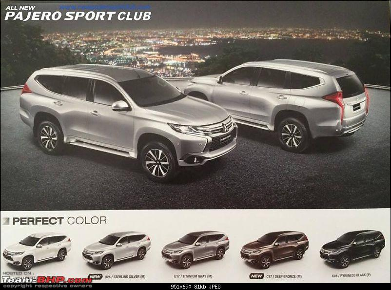 India-bound 2015 Mitsubishi Pajero Sport launched in Thailand-11817126_799279923518231_2169048664271999273_n.jpg
