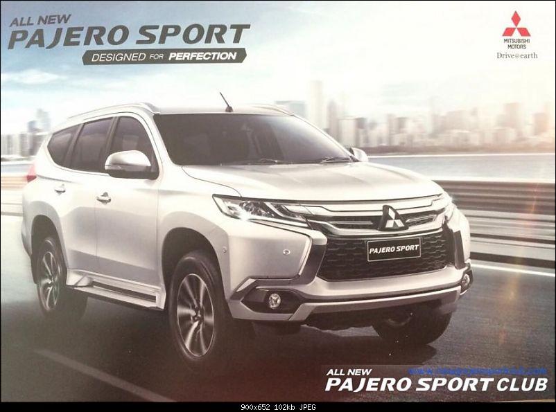 India-bound 2015 Mitsubishi Pajero Sport launched in Thailand-2016mitsubishipajerosportfrontviewbrochurescan900x6521.jpeg