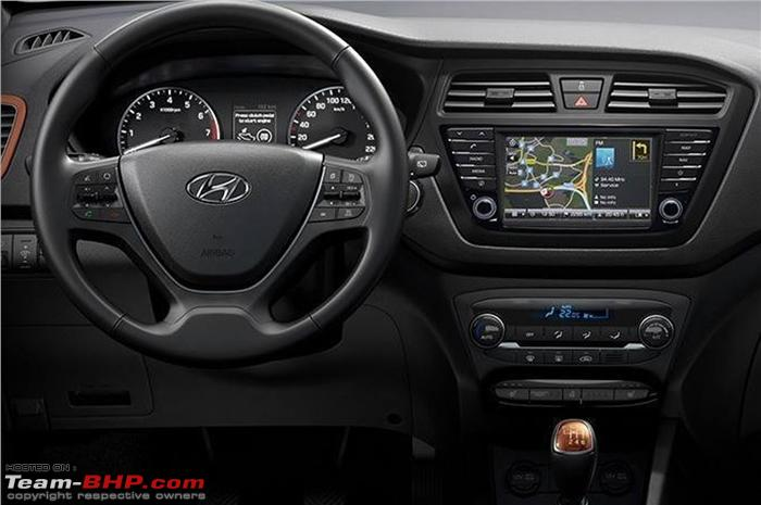 Hyundai adds new i20 variants in india team bhp for Interieur hyundai i20