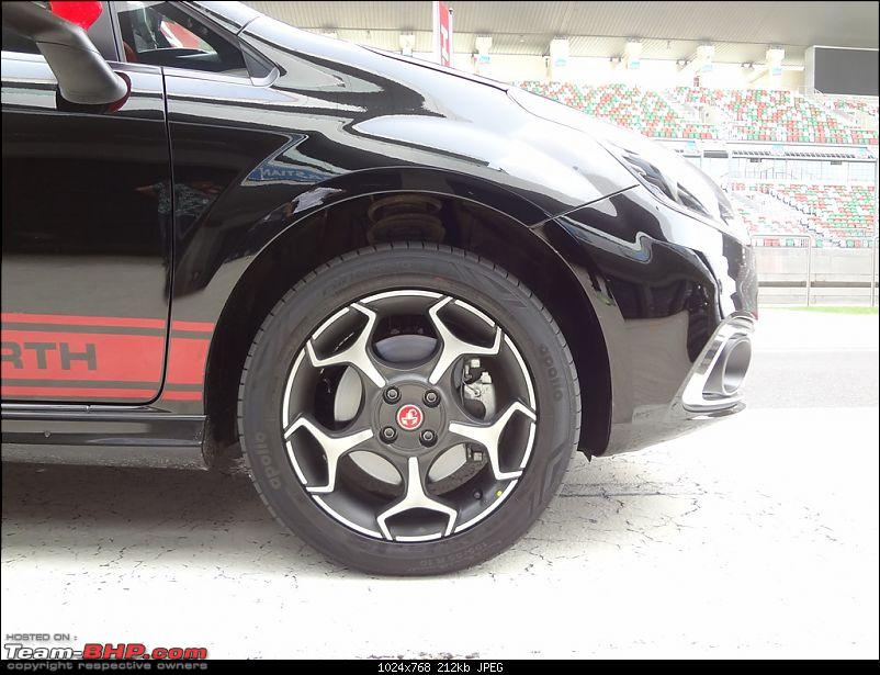 A Close Look: Fiat Punto Abarth. EDIT: Now launched at Rs. 9.95 lakhs!-img-14.jpg