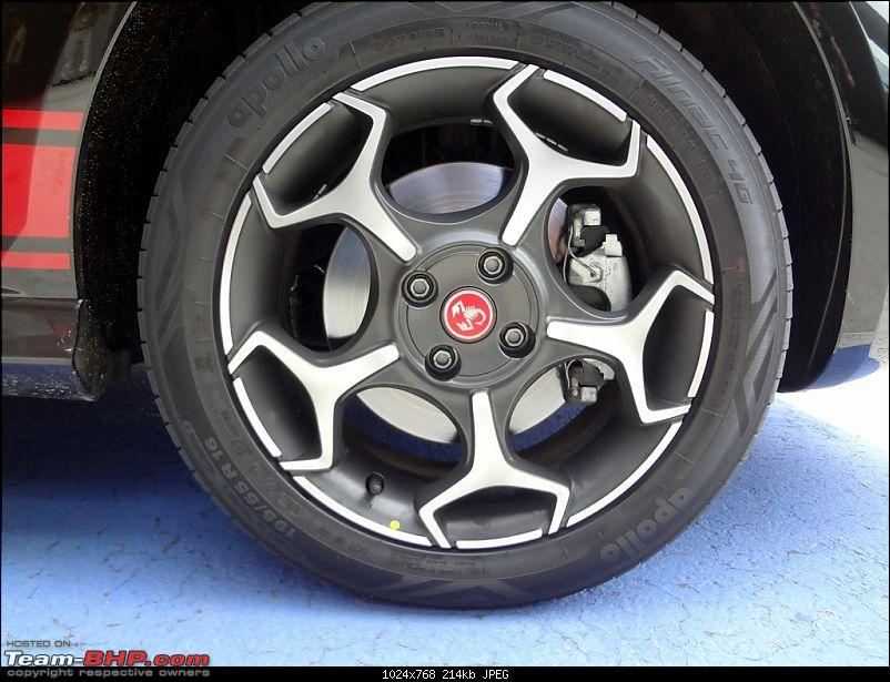 A Close Look: Fiat Punto Abarth. EDIT: Now launched at Rs. 9.95 lakhs!-img-16.jpg
