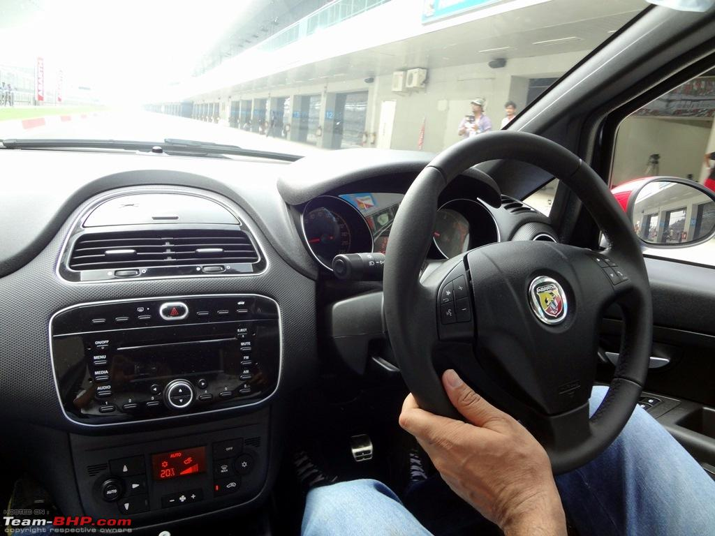 a close look: fiat punto abarth. edit: now launched at rs. 9.95