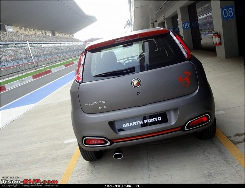 A Close Look: Fiat Punto Abarth. EDIT: Now launched at Rs. 9.95 lakhs!-img-7.jpg