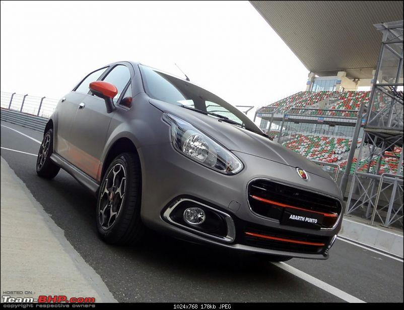 A Close Look: Fiat Punto Abarth. EDIT: Now launched at Rs. 9.95 lakhs!-img-9.jpg