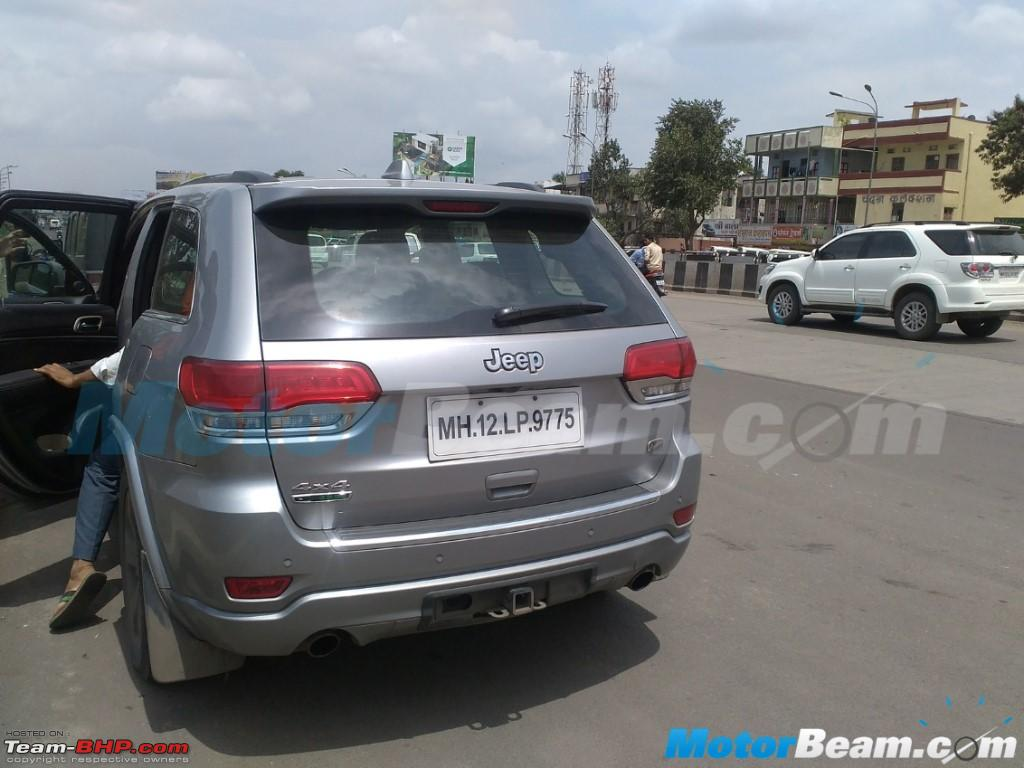 Design car number plates india - Fiat To Bring Jeep Grand Cherokee To India Jeepgrandcherokeetesting Jpg