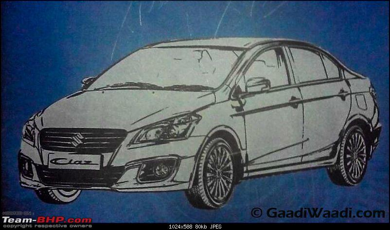 Maruti Ciaz SHVS with Integrated Starter Generator & idling start / stop system. EDIT: Now launched!-marutisuzukiciazhybrid1.jpg